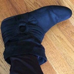 Rampage Suede like Fabric Ankle boots